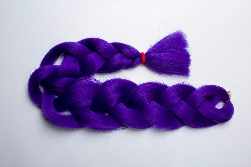 Qp Hair Extensions Kanekalon Jumbo Braid Hair 165g Ultra Big Box Braiding Hair 25-100pcs Lot Braids 165g Usa By Ups Shipping Hair Extensions & Wigs