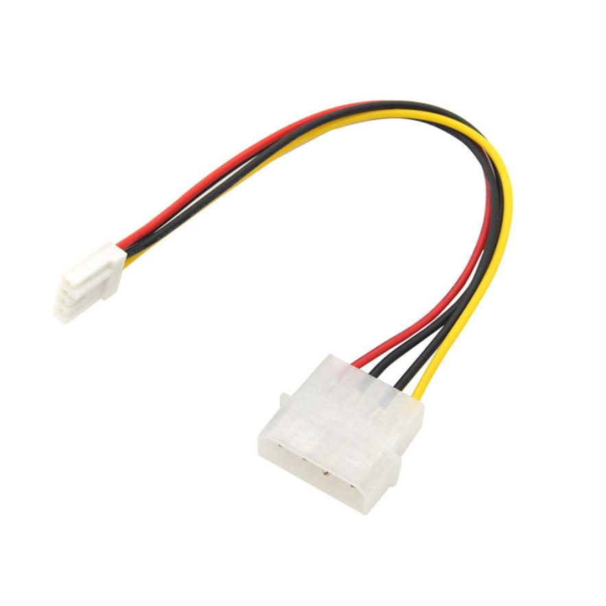 Carprie New 4 Pin Molex To 3.5 Floppy Drive FDD Internal Power Cable Adaptor 20cm Hot 17Aug16 Dropshipping 5 25 cd rom bay to floppy drive mounting kit bracket