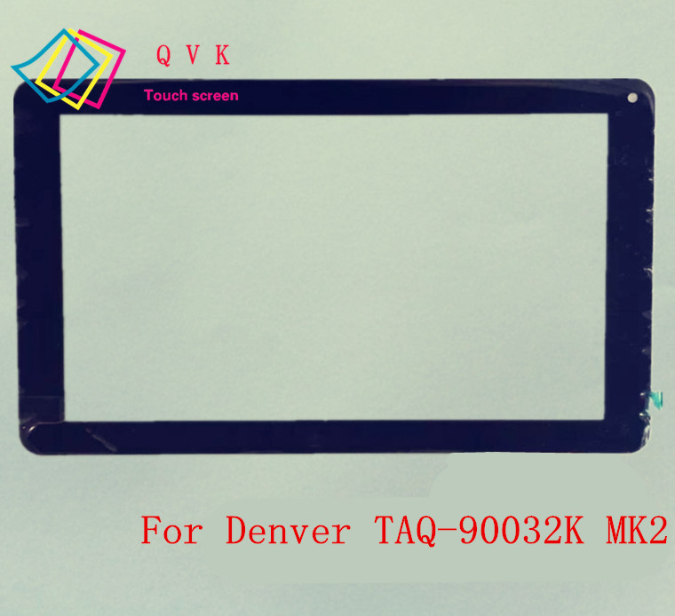 10.1 inch for Denver TAQ-90032K MK2 tablet pc capacitive touch screen glass digitizer panel new 9 touch screen digitizer replacement for denver tad 90032 mk2 tablet pc