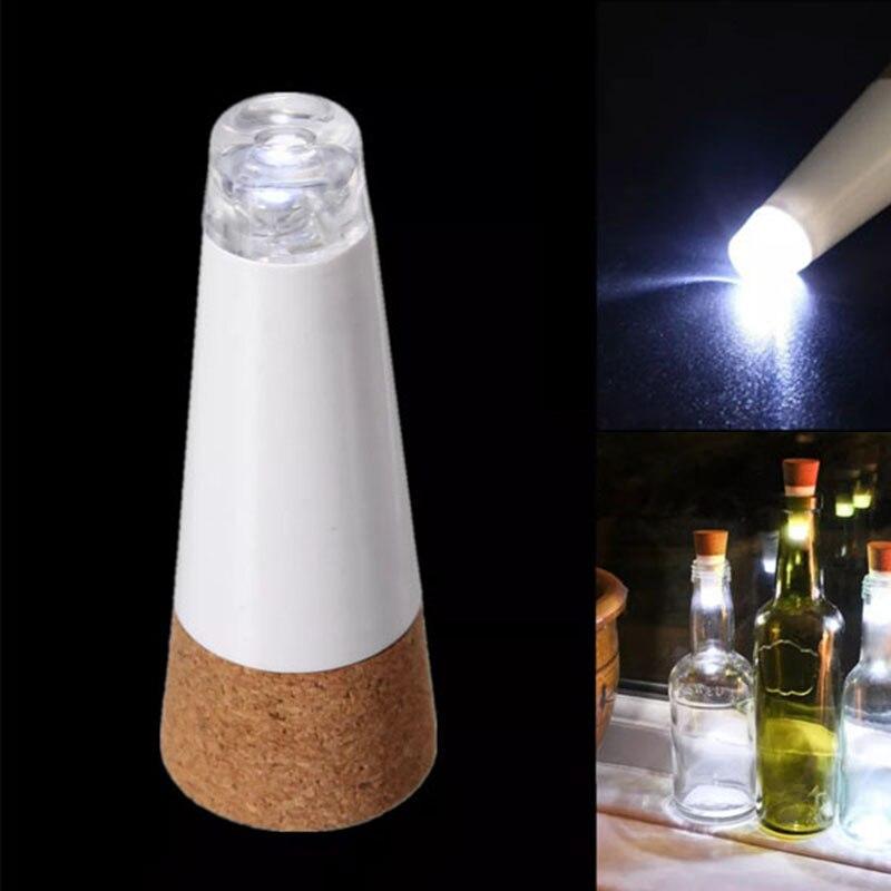 1 piece LED rechargeable shiny bottle cap cork stopper cap lamp creative romantic cork lights festive atmosphere lights
