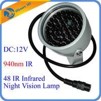 New Hot 940nm 48 LED IR Lights Illuminator Night Vision Light For AHD TVI 1080P 940nm
