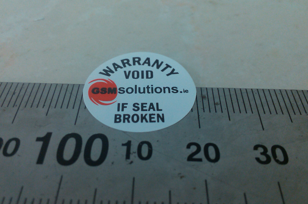 custom order Warranty void label sticker,2cm diameter fragile warranty sticker shall be null and void the warranty and black and red round 0 25 cm vulnerable if mobile