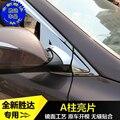 Высокое качество ABS хром крышка объектива заднего вида украшение крышка для Hyundai Santa Fe IX45 2013 2014 2015 2016 2017 автомобиль-Стайлинг
