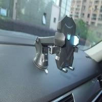 Evrensel araba telefon GPS tutucu Standları Otomatik Kilit Enayi GPS Tutucu Dağı Cep Telefonu iPhone 7 7 S 6 6 S samsung iPad