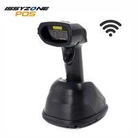 ISSYZONEPOS Беспроводной 1D сканера штриховых кодов с рабочего стола Зарядное устройство CCD/лесар считывания штрих кода дополнительного IPBS001