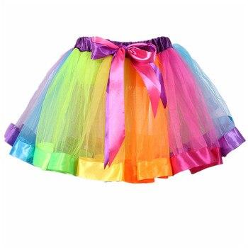 3fa95d3f6 Falda tutú negra para mujer, falda de tul, falda de Ballet, falda de danza  del vientre, falda de ...