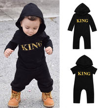 56bb749648d (Ship from US) Baby Costume Newborn Infant Baby Boy Hooded Letter Romper  Jumpsuit Playsuit Cotton Clothes Outfits kids Jumpsuits onesie