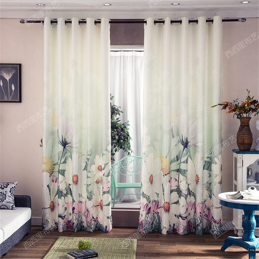 Window curtain living room Blackout curtains for children 3d ...