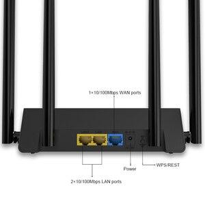 Image 4 - Kablosuz yönlendirici wifi amplifikatör Wi Fi router AP 2.4Ghz 300mbps WiFi aralığı İngilizce Firmware 4 * 5dBi yüksek kazanç antenler WPS