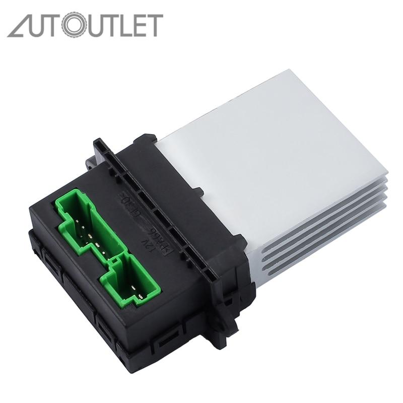 AUTOUTLET pour 7701048390 ventilateur moteur résistance pour Citroen Renault 6441. L2 509355 36695 T1000948E/A F657165W/M F657165W/R