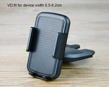 Rotary Car CD Slot GPS Tablet Mobile Phone Mount Stand Holders For Nokia 6 (2018),Blackview S8/S6,Lenovo K320t,Wiko Sunny 2 Plus