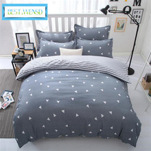 BEST.WENSD Comforter Winter bedding bed sheet king quilt cover set pillow covers -edredon double-single bedclothes cubre canas