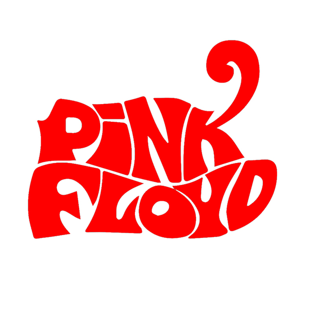 The world famous rock band pink floyd lettering art funny car sticker for motorhome truck