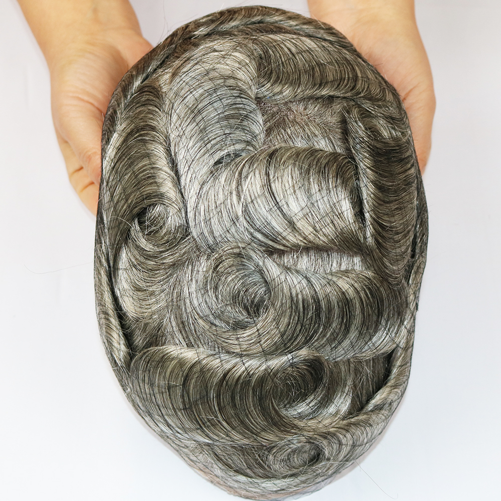 toupee grey hair
