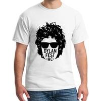Men's Retro Brand T Shirts Bob Dylan Tee Custom Short Sleeve White t Shirts Men casual tops tee clothes size S XXXL NN