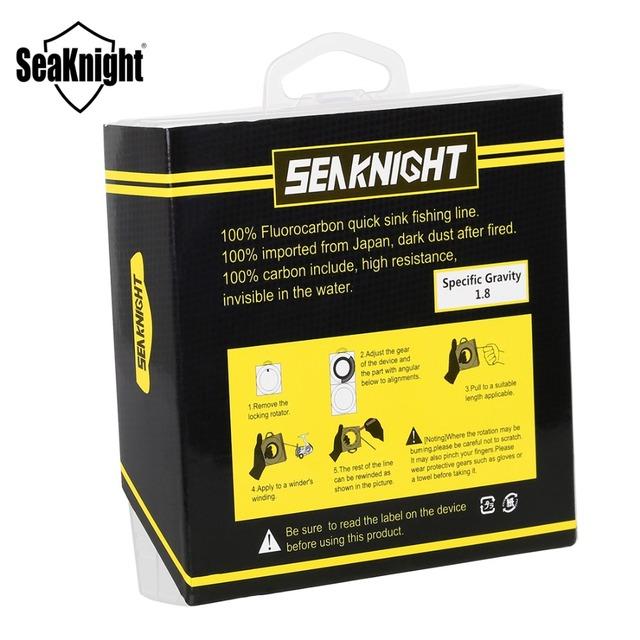 SeaKnight Fluorocarbon Leader Line 50M