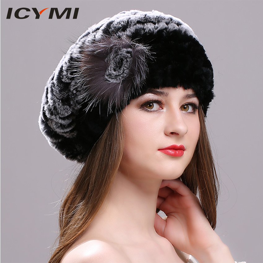 The new model beaver rabbit hair ladys beret in autumn and winter, the hat of that