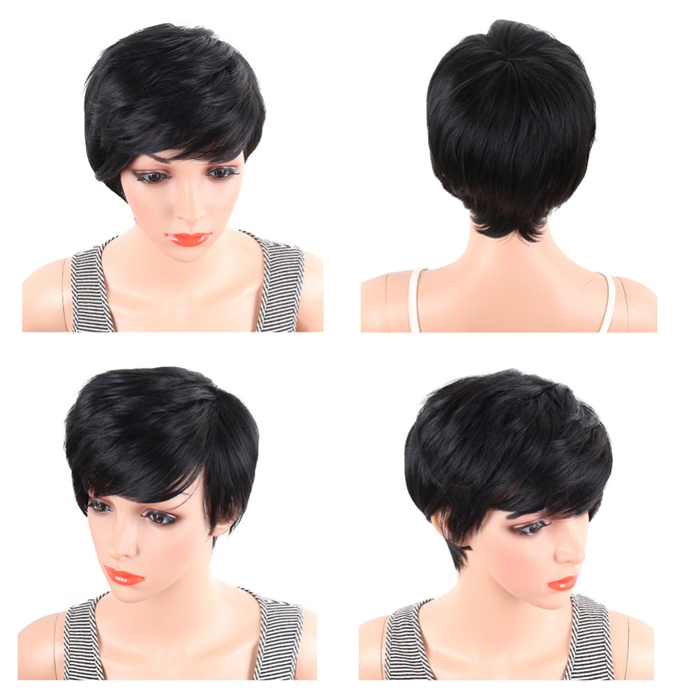 Deyngs Pixie Αποκοπή Ευθεία Συνθετική - Συνθετικά μαλλιά - Φωτογραφία 2