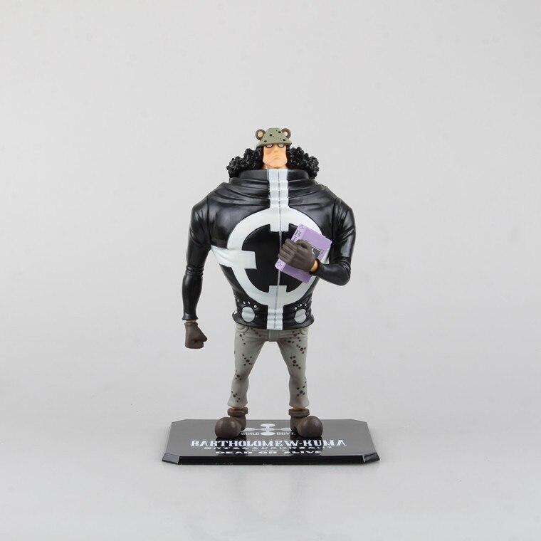 SAINTGI One Piece Japanese Anime Bartholemew Kuma Onepiece New World Revolutionary Army Action Figure Toys 23cm PVC Model