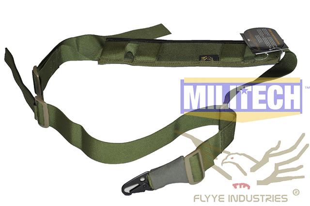 Especificaciones militares Oliver Drab OD Tactical Rifle Punto Único Gen 2 FY-SL-S005 FLYYE Individual Sling Sling Versión II