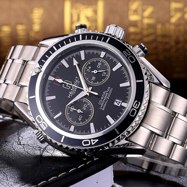 New Brand Mens Chronograph Wrist Watch Multifunction Top ...