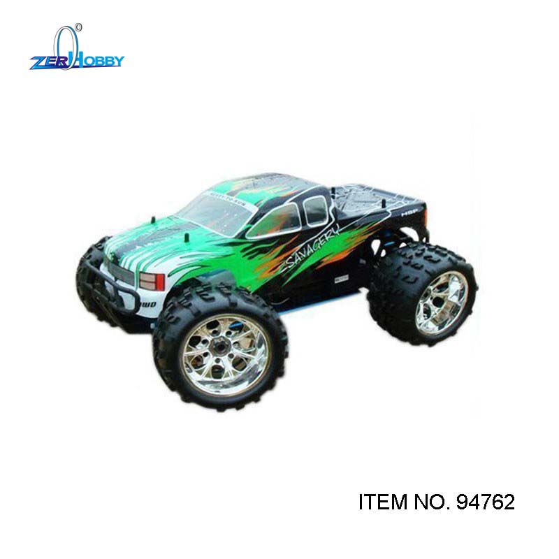 US $305 37 5% OFF|HSP NOKIER SAVAGERY 94762 1/8 SCALE 4WD OFF ROAD NITRO  MONSTER TRUCK BIG FOOT REMOTE CONTROLLER RC CARS HIGH SPEED 21CXP ENGINE-in