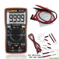 AN8009 True RMS Auto Range Digital Multimeter NCV Ohmmeter AC/DC Voltage Ammeter Meter temperature measurement