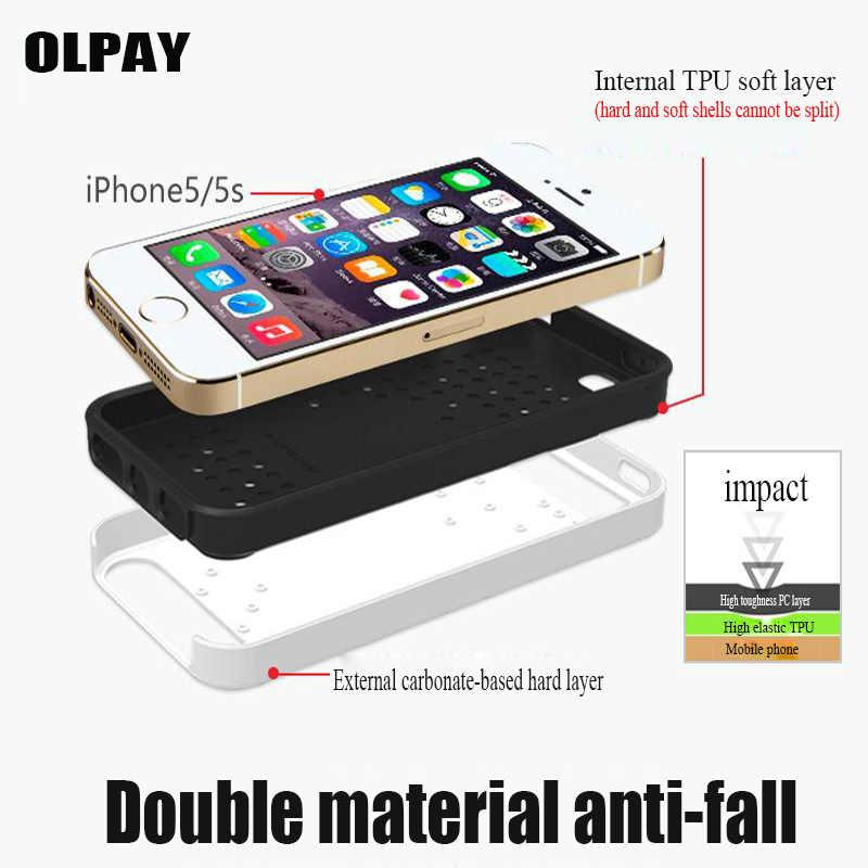 נובל אופנה הגנה למניעת נפילות נייד טלפון מקרה עבור iPhone 7 6 6 S 5 5S 8 6 בתוספת X XR מקס 4S עמיד הלם dustproof טלפון מקרה