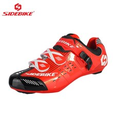 SIDEBIKE Road Bike Shoes Cycling Bicycle Shoes outdoor sport zapatillas ciclismo Men s Breathable Bike Bicycle