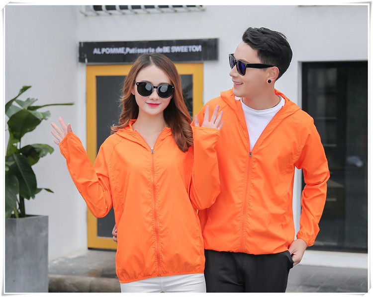 Hot Sale Summer Outdoor Camping Jackets  Windbreaker Waterproof  Sun-protection Solid Quick Dry Thin Hiking  Jacket