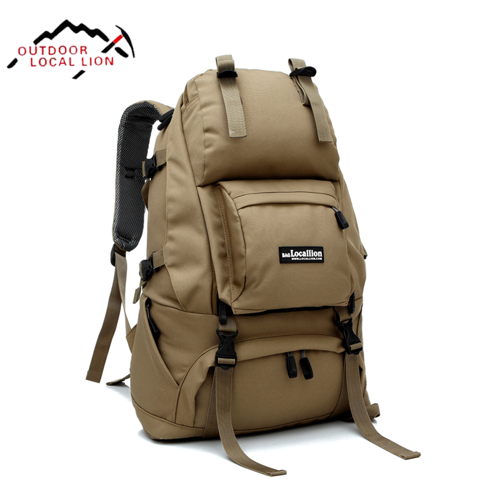 LOCAL LION Military Tactical Backpack Molle Mountain Bag Waterproof Men Climbing Hiking Mountainteering Backpacks Travel Bag 40L игрушка remo hobby mountain lion xtreme rh1072