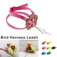 Bird Supplies 120mm Great Parrot Harness & Leash Outdoor Training Rope