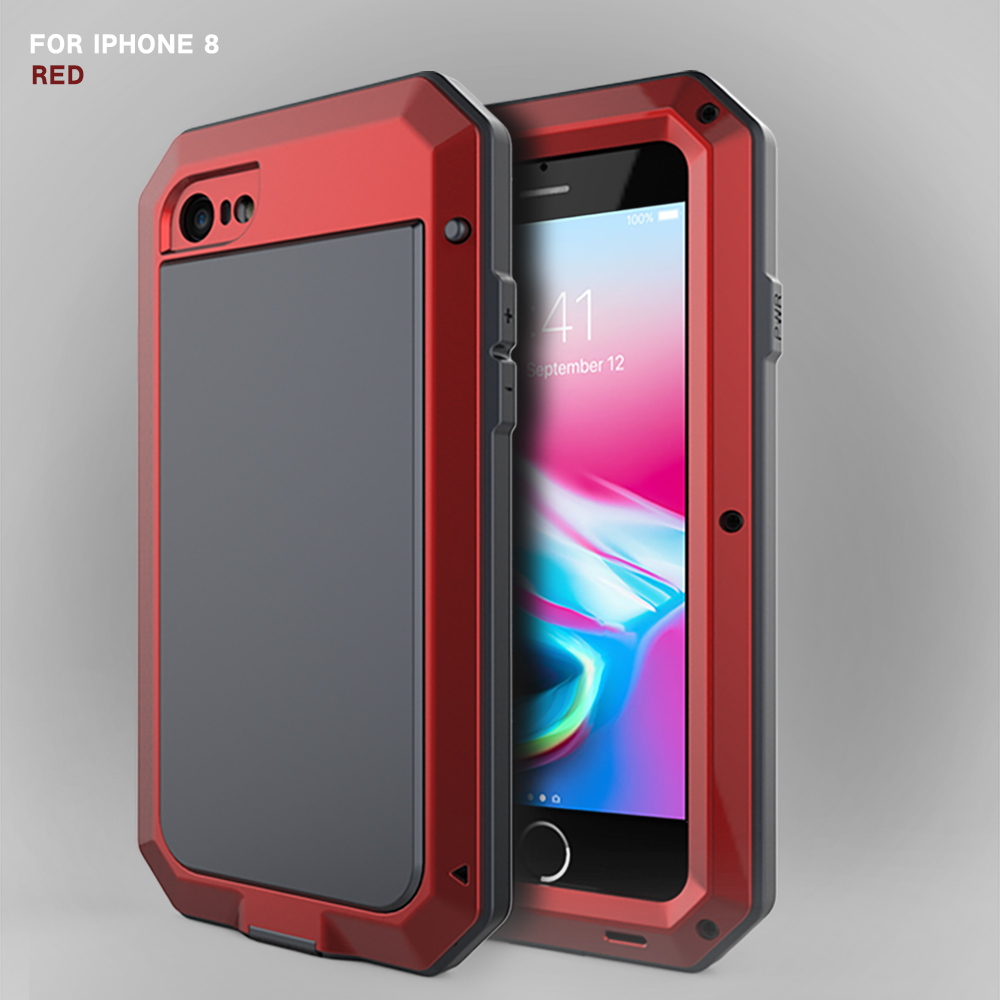 HTB19ymleHuWBuNjSszgq6z8jVXaD Heavy Duty Protection Doom armor Metal Aluminum phone Case for iPhone 11 Pro Max XR XS MAX 6 6S 7 8 Plus X 5S 5 Shockproof Cover