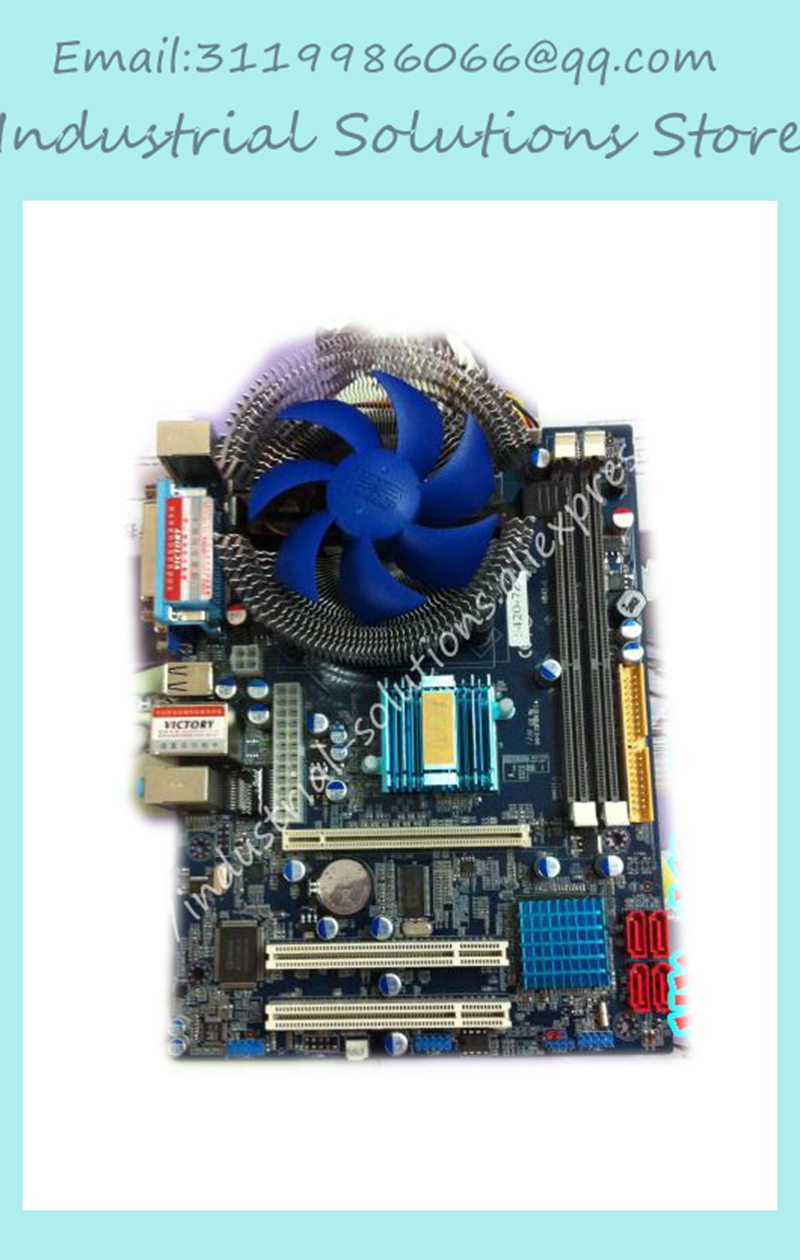 G41 motherboard dual-core 2.33g ddr3 2g 1g 100% tested perfect quality 3 g41 motherboard775 needle cpu ddr2 ddr3 fully integrated 1g board 100% tested perfect quality