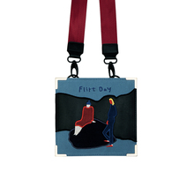 YIZISTORE vintage canvas embroidery retro messenger bags for women in One Day series 2017[FUN KIK] yizi canvas printed backpacks in parent child style for adults hot sale fun kik
