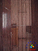 Hot Sale Custom High Grade Hanging Bead Door Curtain Wooden Bead Door Screen Feng Shui Bead