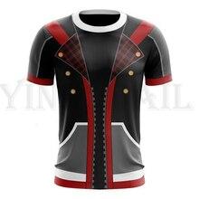 Summer Men and Women Streetwear T-shirt Kingdom Hearts 3d Print T Shirt for Boys Harajuku Costume Cosplay