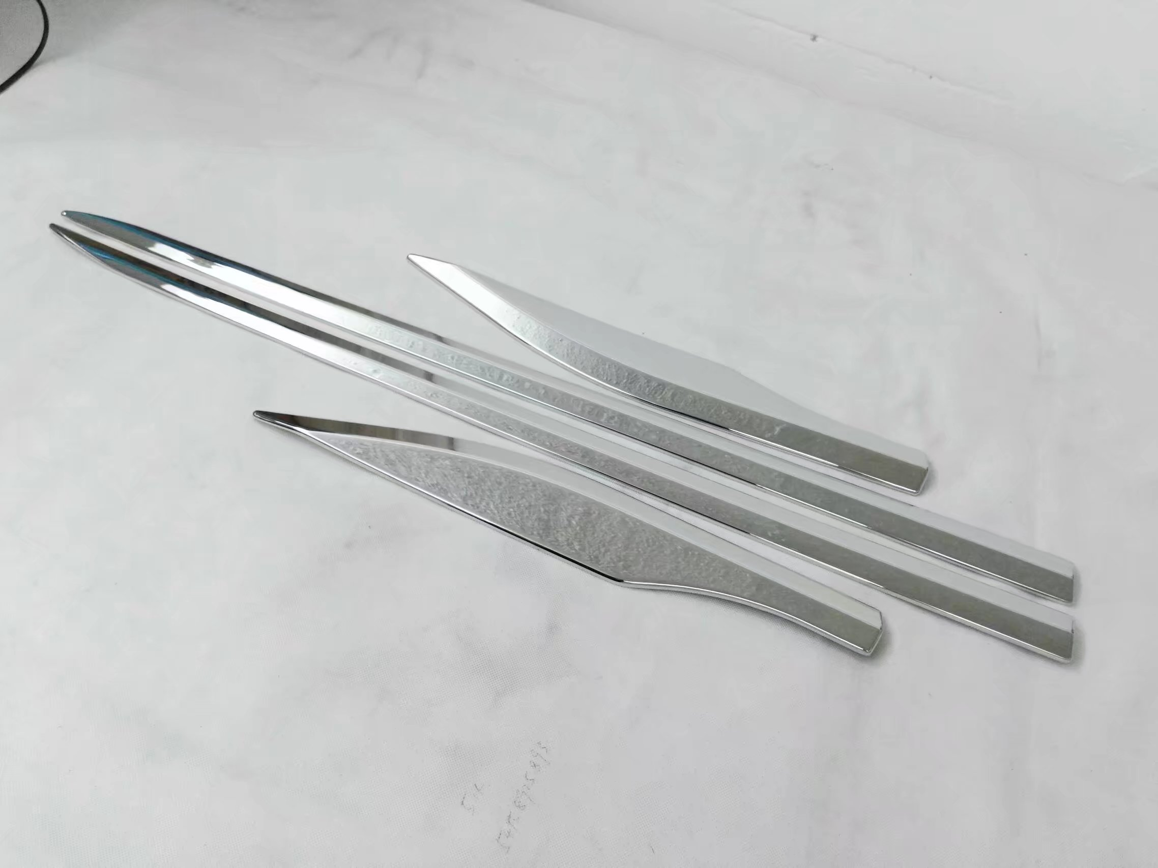 New! For Toyota C -HR CHR 2016 2017 ABS Chrome Side Door Body trim molding protector decoration trim