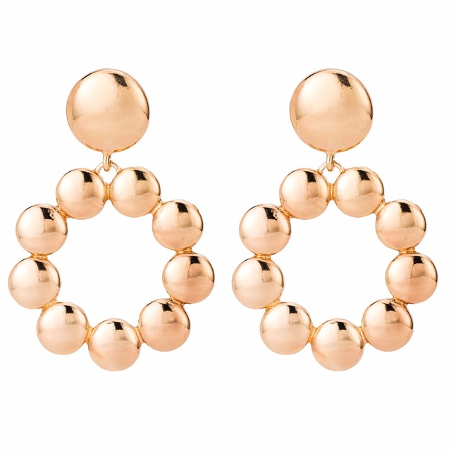 Qiaose New Style Alloy Dangle Drop Earrings for Women Fashion Jewelry Boho  Maxi Collection Earrings Accessories 3fc0450d1ed3
