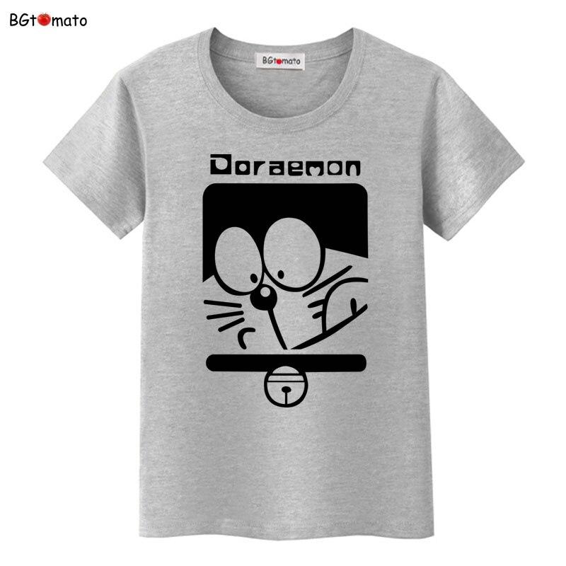 BGtomato Doraemon t shirt Crossover Logan Anime Cartoon T ...