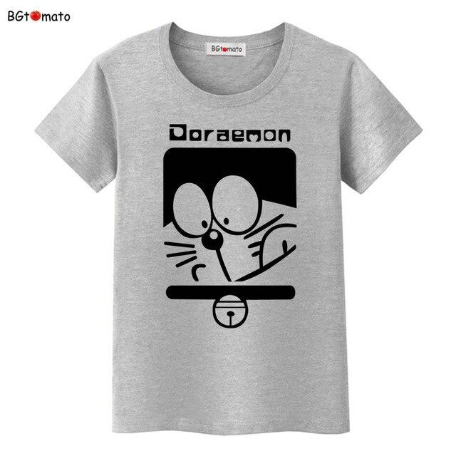 43f80d3a BGtomato Doraemon t shirt Crossover Logan Anime Cartoon T Shirt Design  Parody Funny tops Cool Novelty Geek tees Sty