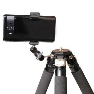 Image 2 - XILETU TM 1 Universel Bras Externe 1/4 Vis peut être monté sur Trépied lumière flash micro téléphone clip de fixation