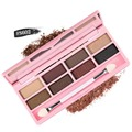 8 Colors BYNANDA Professional Eyeshadow Pallete Women Natural Facial Beauty Make Up Cosmetics Shades Eye Shadow Set top quality