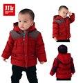 Bebê crianças jaqueta de roupas de inverno casacos meninos crianças snowsuit casaco de inverno