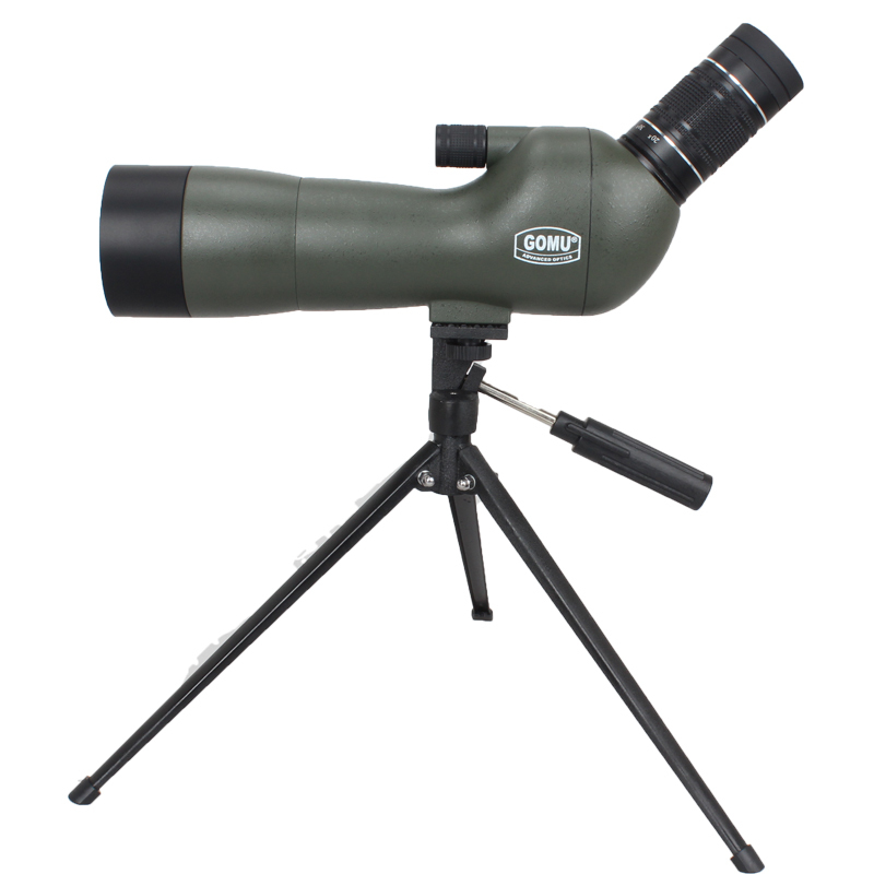 GOMU Waterproof Angled 20-60x60 Zoom Spotting Scopes With Tripod(Upgraded Version) носки stance носки ж reserve womens morning marble ss17