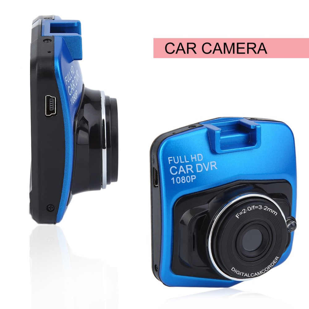 "Universal Mobil DVR Kamera 2.4 ""LCD Camcorder Full HD Video Registrator Parking Perekam G-Sensor Malam Visi DASH cam Panas"