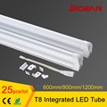 1200mm 4ft T8 integrated led tube lamp with Clear Cover/Milky Cover integrating led tube AC85-265V