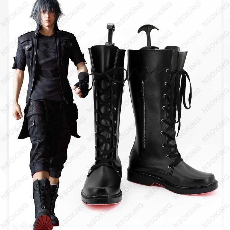 Nouveau Final Fantasy XV Noctis Lucis Caelum Cosplay Anime bottes chaussures de mode sur mesure