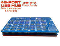 49 Port Usb Hub Charging Or Transfer Data Usb2.0 Hubs By The PSU Power For Bitcoin Mining Industrial Grade