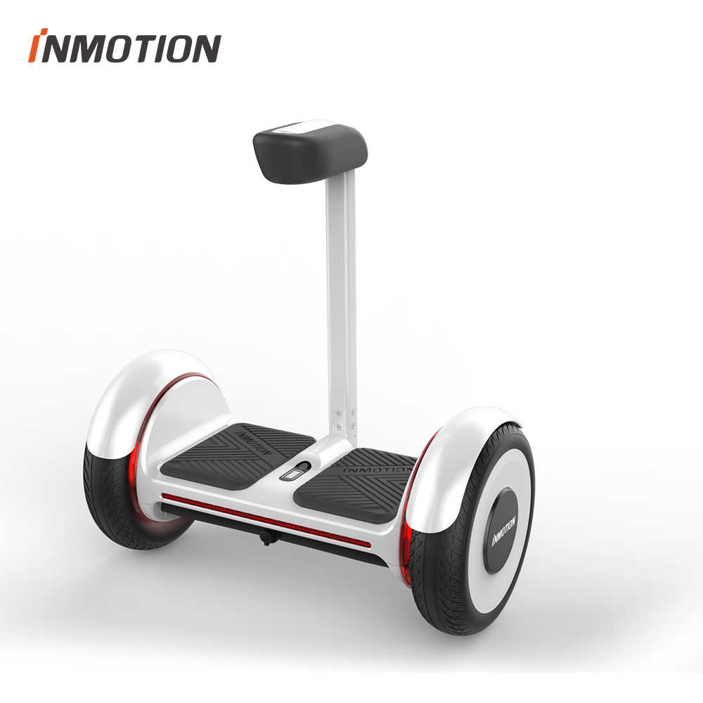 Inmotion E2 Diri Balance Scooter Two Wheel Smart Electric Hoverboard Skateboard dengan Aplikasi LED Scooter Kendaraan